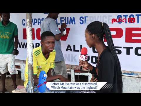 "PulseTV Presents: ""Think You're Smart"" -Testing the brains of Ghanaians (Episode V)"