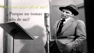 Frank sinatra - All of me [Sub. Español/Lyrics]