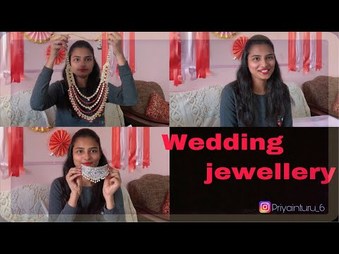 WEDDING JEWELLERY || BRIDAL SETS || HAIR STYLES || WEDDING SPECIAL || PRIYA INTURU ||