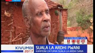 Suala la ardhi Pwani zatumika katika kampeini za kisiasa