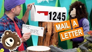 How to Mail a Letter | Learning Videos for Kids