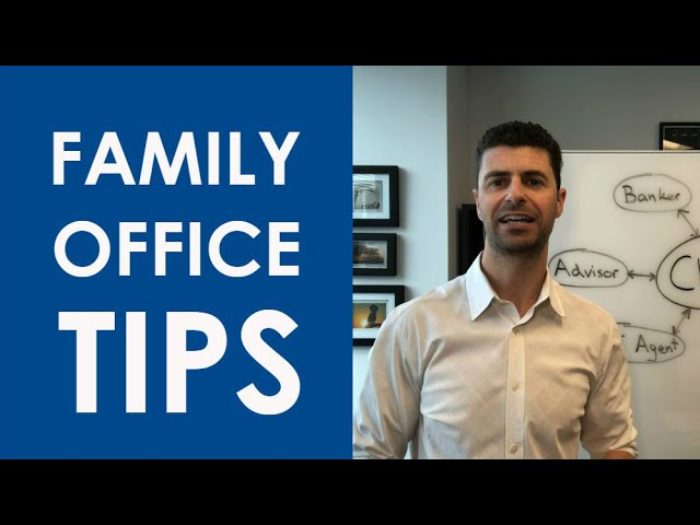 Amily Office Structure For Your Wealth Management Practice