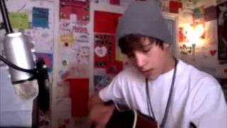 Austin Mahone singing So Sick on Ustream