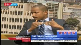 Babu Owino speaks on his recently launched manifesto