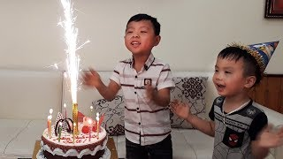 Happy Birthday To Anto Surprise Gift From Brother Ben W/ Nursery Rhymes Song For Kids