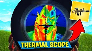 I NEED THE THERMAL SCOPE AR! in Fortnite
