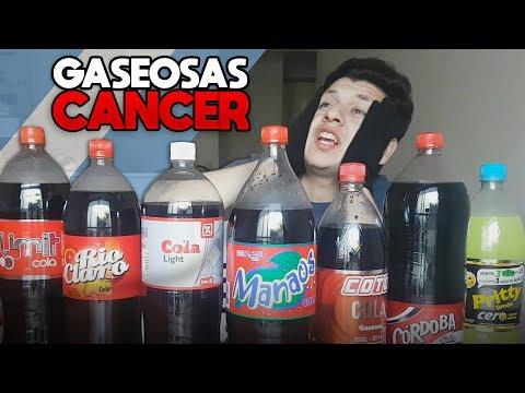 TOMANDO GASEOSAS CANCERIGENAS DE ARGENTINA