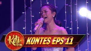 TERBAIK!!! MEDLEY Dari Amel Yang Sangat SPEKTAKULER - Kontes KDI Eps 11 (20/8)