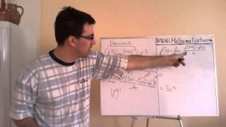 Derivace - tabulka základních derivací a odvození derivací z definice