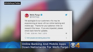 Online Banking, Mobile App Are Down Nationwide For Wells Fargo
