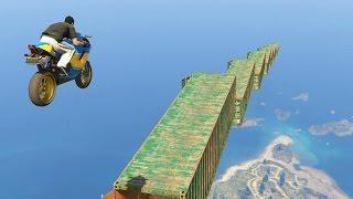 LA ESCALERA IMPOSIBLE!! - CARRERA GTA V ONLINE - GTA 5 ONLINE
