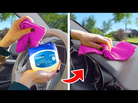 WOW! Easy hacks you didn't know about! VALUABLE CAR HACKS EVERY DRIVER NEEDS TO KNOW