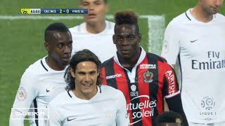 Edinson Cavani Vs Balotelli