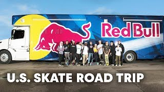 13 Skaters Set Out On A Massive U.S. Skate Road Trip. | Red Bull Drop In