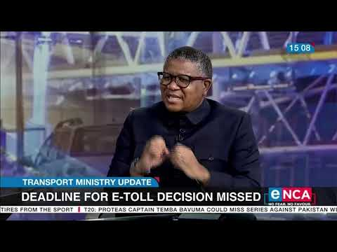 Fikile Mbalula speaks on Easter road fatalities, e tolls and the ANC