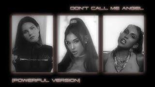 Ariana Grande, Miley Cyrus, Lana Del Rey - Don't Call Me Angel (Powerful Version) / Audio