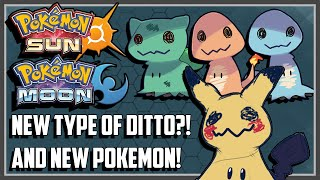 Ditto  - (Pokémon) - BRAND NEW POKEMON! IS THAT A NEW TYPE OF DITTO?! - Pokemon Sun and Moon