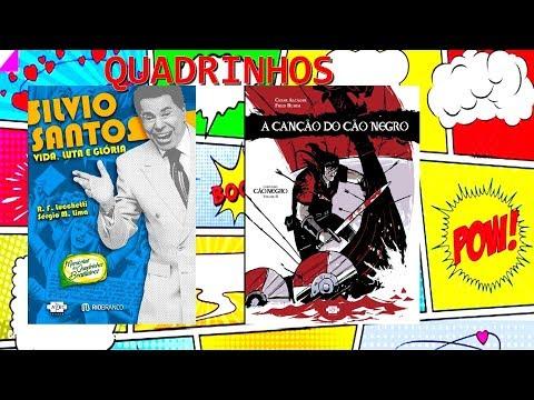 HQs, Quadrinhos e Mangás: A CANÇÃO DO CÃO NEGRO de Cesar Alcázar e Fred Rubim & SILVIO SANTOS
