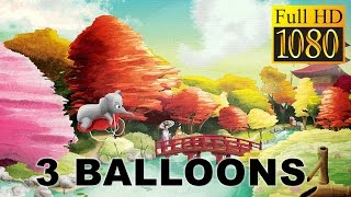 3Balloons 3 Red Balloons Picture Book Game Review 1080P Official Jogo JogoAdventureCreativity 2016