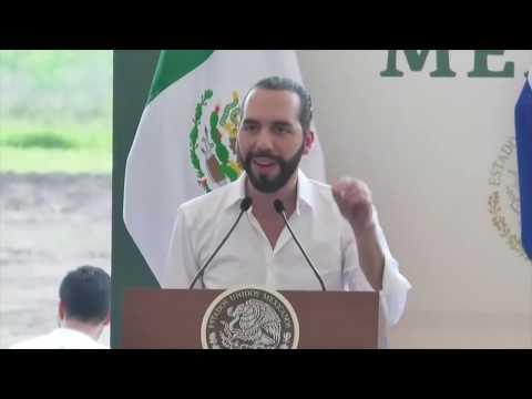 Presidente Nayib Bukele se reúne con su homólogo de México Andrés Manuel López Obrador