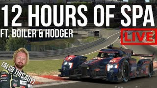 iRacing - 12 Hours Of Bailey Making Funny Noises