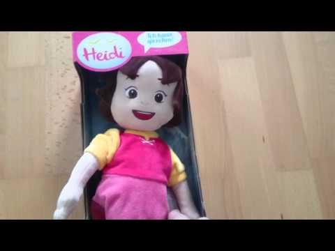 Heidi sprechende Puppe Kinder Spielzeug