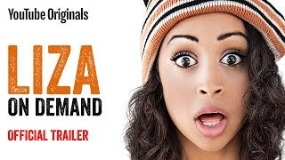 LIZA ON DEMAND is a half-hour, single camera comedy that follows the chaotic misadventures of Liza, a young woman in Los Angeles who is trying to make a career out of juggling various gig economy jobs — for lack of a better idea of what to do with her life. Meanwhile, Liza's best friends and roommates Oliver and Harlow try their best to both support and sometimes distract her.  Starring Liza Koshy with Travis Coles and Kimiko Glenn.  Coming June 27th.