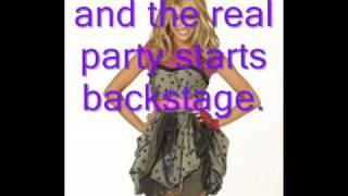 Lets Do this-Hannah Montana(Miley Cyrus)(with lyrics)