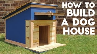 How To Build A Dog House | Modern Builds | EP. 41