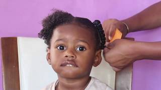 Natural Hairstyles For Kids | Curly Hair Boys Protective Style | Toddler Boy Curly Hair