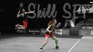 [Badminton SkillSET] Yuta watanabe & Arisa Higashino Skill SET