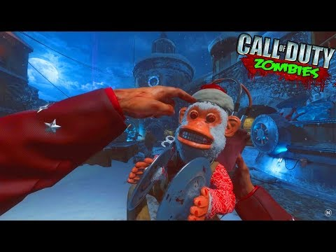 CHRISTMAS ZOMBIES EASTER EGG!!! - (CALL OF DUTY ZOMBIES MOD)