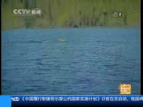 Kansas Lake Monster Caught On Film