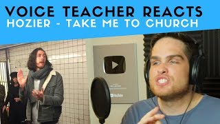 Vocal Analysis Of Hozier   Take Me To Church (Voice Teacher Reacts)
