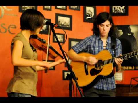 Lissa Schneckenburger and Bethany Waickman play Moneymusk