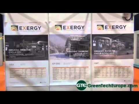 Exergy Interview: Organic Rankine Cycle modules with the Radial Outflow Turbine