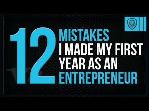 , title : '12 Mistakes I Made My First Year as an Entrepreneur'