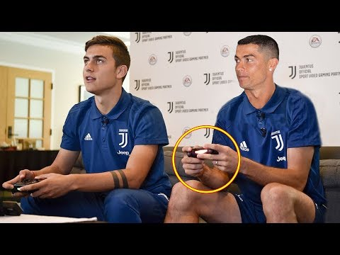 Download Famous Footballer Playing FIFA Ft. Ronaldo, Messi, Pogba |HD HD Mp4 3GP Video and MP3