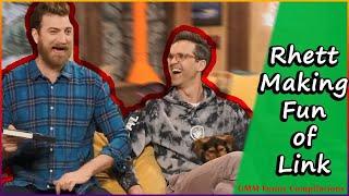 Rhett Making Fun of Link/Roasting Link (Kinda)- GMM Funny Compilations - That'Z Funny