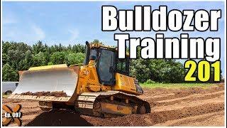 How to Operate a Bulldozer - Advanced // Heavy Equipment Operator Training