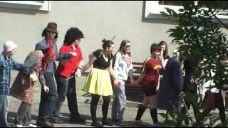 preview picture of video 'Vidám ballagás 2014. április 30.'