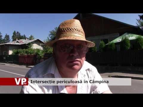 Intersecție periculoasă în Câmpina