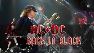 AC/DC - Back in Black (lyrics - sub español) HD