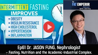 Ep61 Dr Jason Fung on Fasting, Nutrition and the Academic-Industrial Complex