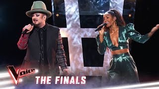The Finals: Kelly Rowland And Boy George Sing 'Runaway Train' | The Voice Australia 2019