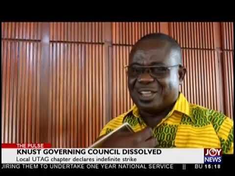 KNUST Governing Council Dissolved - Pulse on JoyNews (26-10-18)