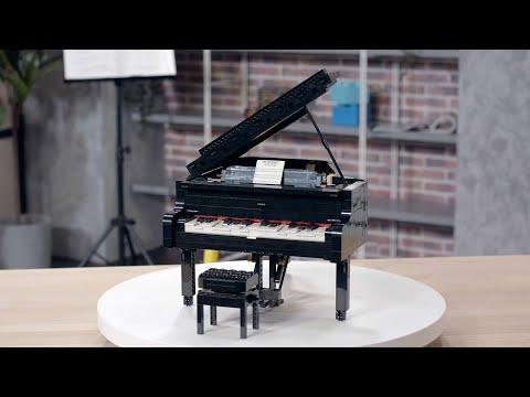 Vidéo LEGO Ideas 21323 : Le piano à queue