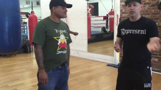 ricky funez how you throw a liver shot EsNews Boxing
