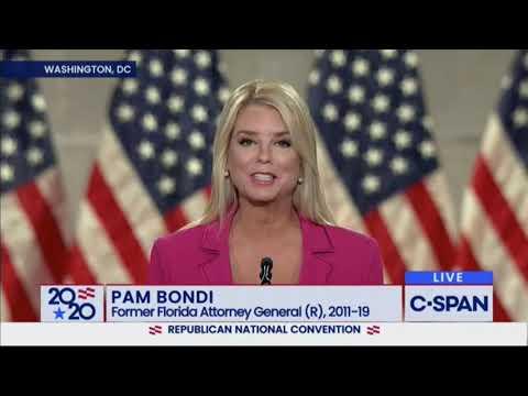 """Fmr Florida AG Pam Bondi: POTUS Wants A """"Safer, Better, & Stronger America"""""""