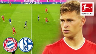 Best of Joshua Kimmich vs. Schalke 04 | All Assists, Best Passes & More
